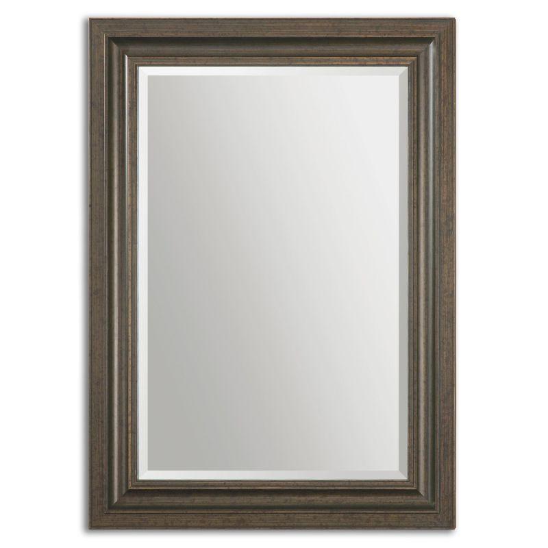Uttermost 14247 Adalwin Antique Bezel Mirror Distressed Dark Bronze