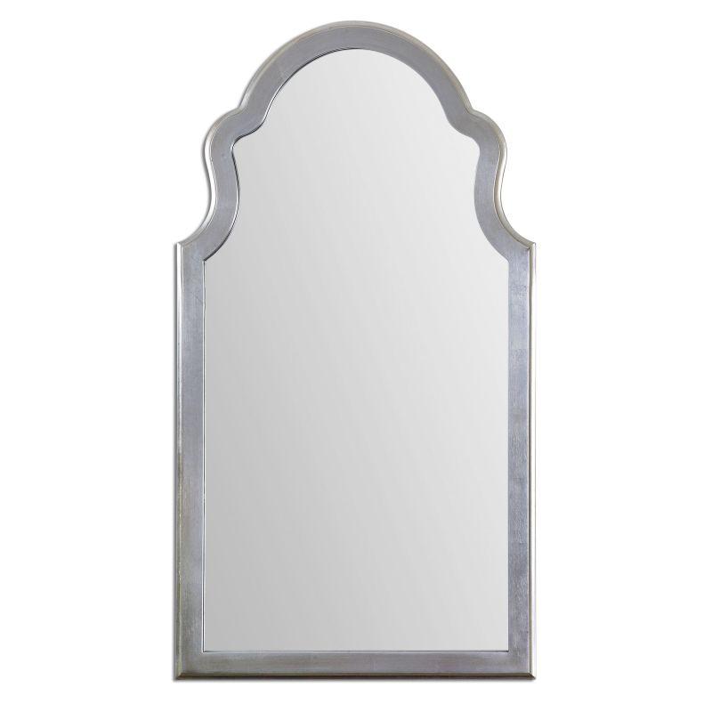 """Uttermost 14479 Brayden 27""""W x 48""""H Rectangular Wall Mirror Silver"""