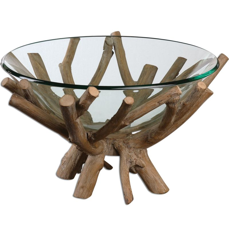 Uttermost 19851 Thoro Natural Wood Bowl Wood Home Decor Decorative Sale $217.80 ITEM: bci2357442 ID#:19851 UPC: 792977198513 :