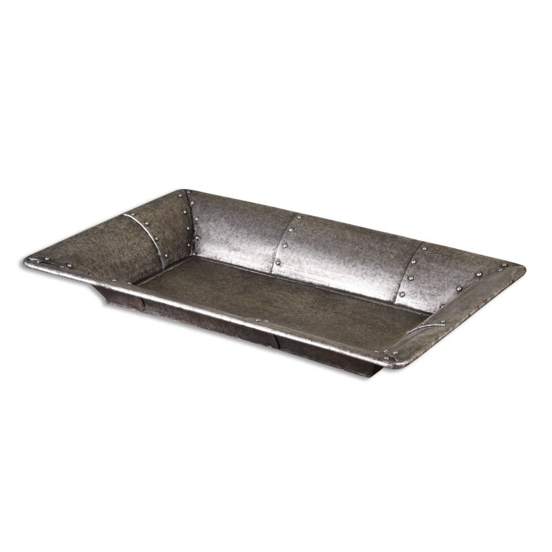 Uttermost 19956 Arya Decorative Tray Burnished Silver Home Decor Sale $173.80 ITEM: bci2612096 ID#:19956 UPC: 792977199565 :