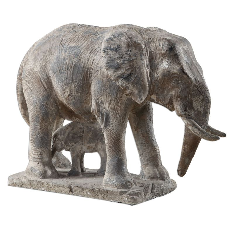 Uttermost 20025 Standing Guard Statue Aged Gray Home Decor Statues & Sale $305.80 ITEM: bci2765103 ID#:20025 UPC: 792977200254 :