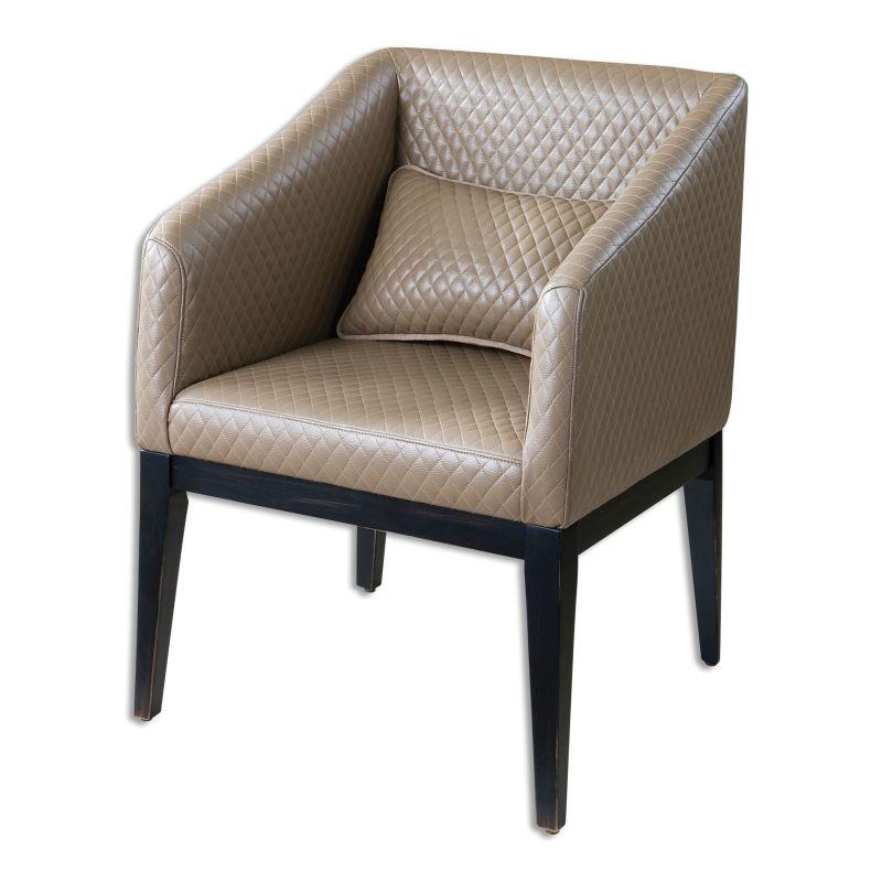 Uttermost 23224 Jaelynn Fabric Chair Designed by Carolyn Kinder Creamy