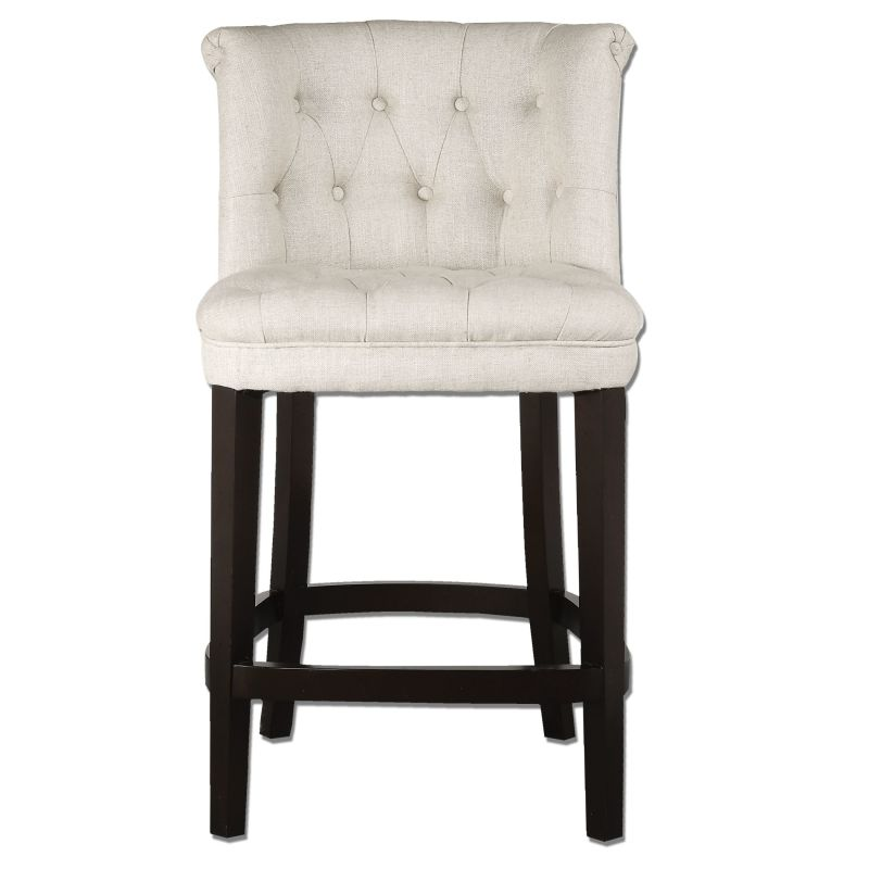 Uttermost 23236 Kavanagh Chair Designed by Jim Parsons Vintage White
