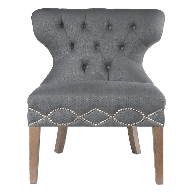 Uttermost 23241 Shafira Chair Designed by Jim Parsons Oak Furniture