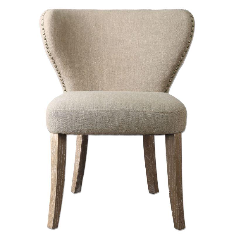 Uttermost 23249 Radman Chair Designed by Jim Parsons Tan Furniture