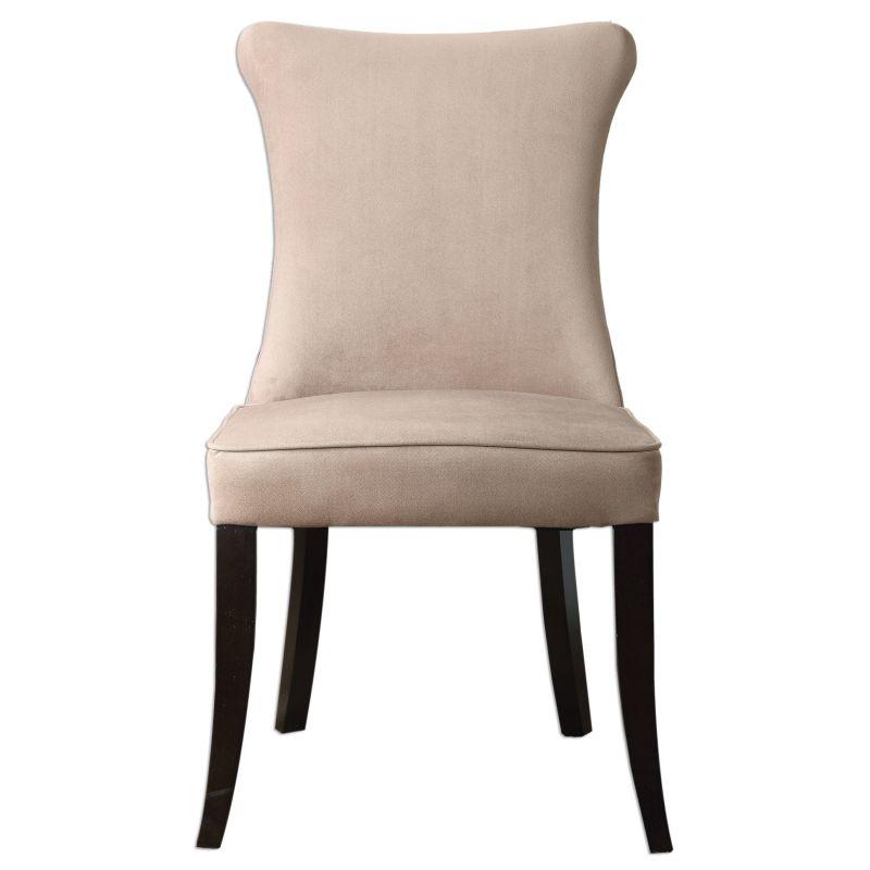 Uttermost 23251 Jantzen Chair Designed by Jim Parsons Rich Tan