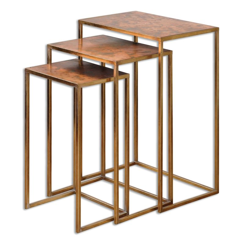 Uttermost 24449 Copres Stand Designed by Grace Feyock Oxidized Copper Sale $292.60 ITEM: bci2612137 ID#:24449 UPC: 792977244494 :