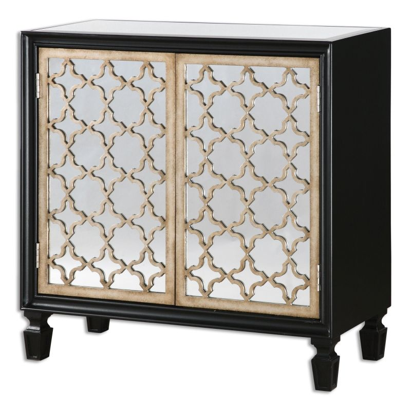 Uttermost 24498 Franzea Wood Dresser Designed by Jim Parsons Gloss