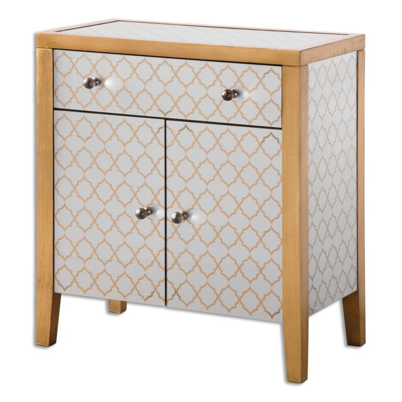 Uttermost 24499 Karolina Wood Dresser Designed by Jim Parsons Grecian