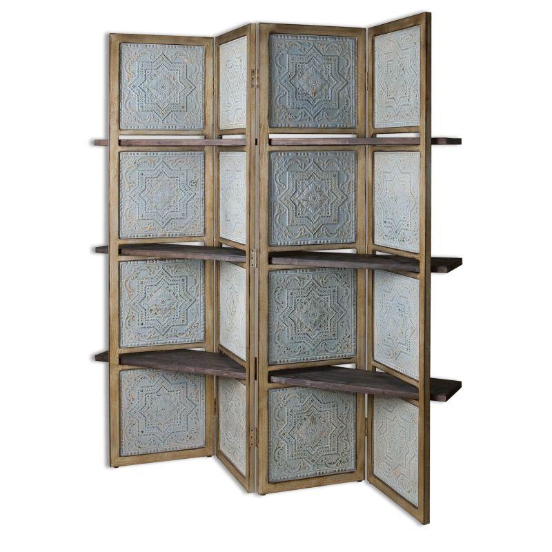 Uttermost 24511 Anakaren Wood Blinder Designed by Carolyn Kinder Pale Sale $723.80 ITEM: bci2612169 ID#:24511 UPC: 792977245118 :
