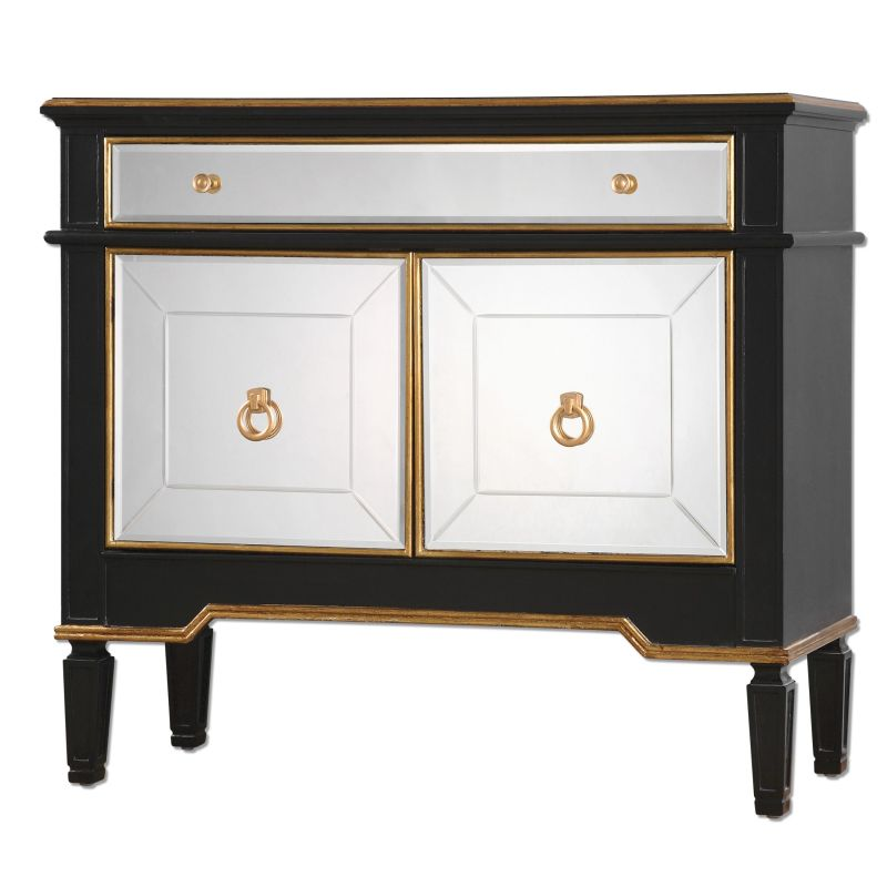 Uttermost 24519 Marciel Dresser Designed by Jim Parsons Black