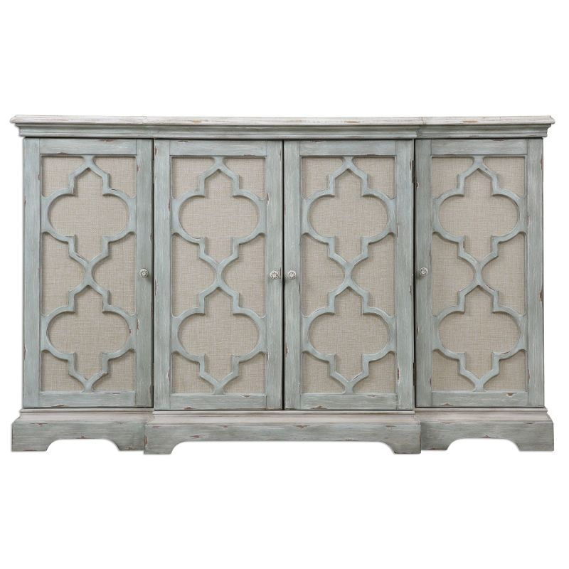 Uttermost 24520 Sophie Cabinet Designed by Jim Parsons Weathered Grey