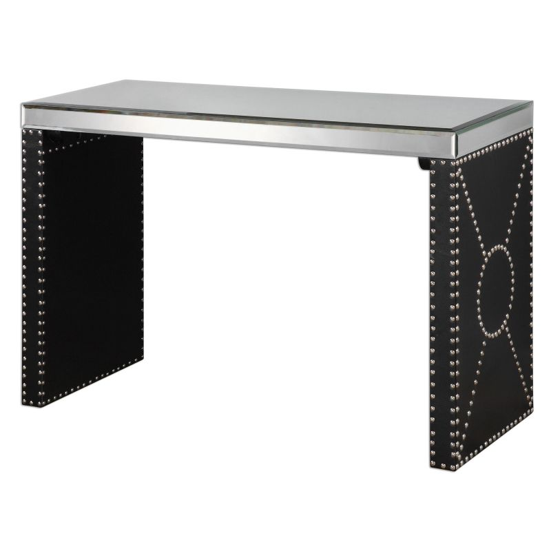 Uttermost 24530 Lucero Accent Table Designed by Jim Parsons Black