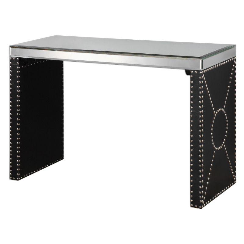 Uttermost 24530 Lucero Accent Table Designed by Jim Parsons Black