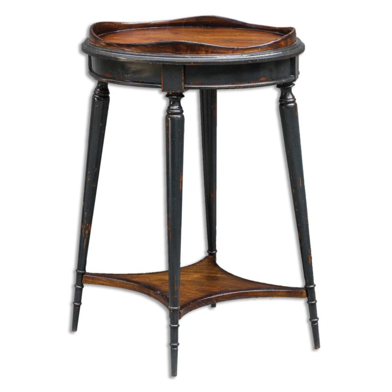 Uttermost 25647 Agacio Stand Designed by Matthew Williams Honey