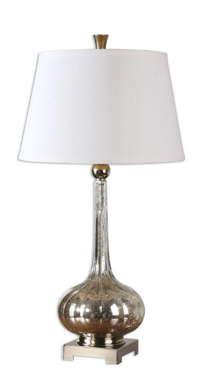 Uttermost 26494 Oristano 1 Light Table Lamp Mercury Glass Lamps Sale $217.80 ITEM: bci2244237 ID#:26494 UPC: 792977264942 :