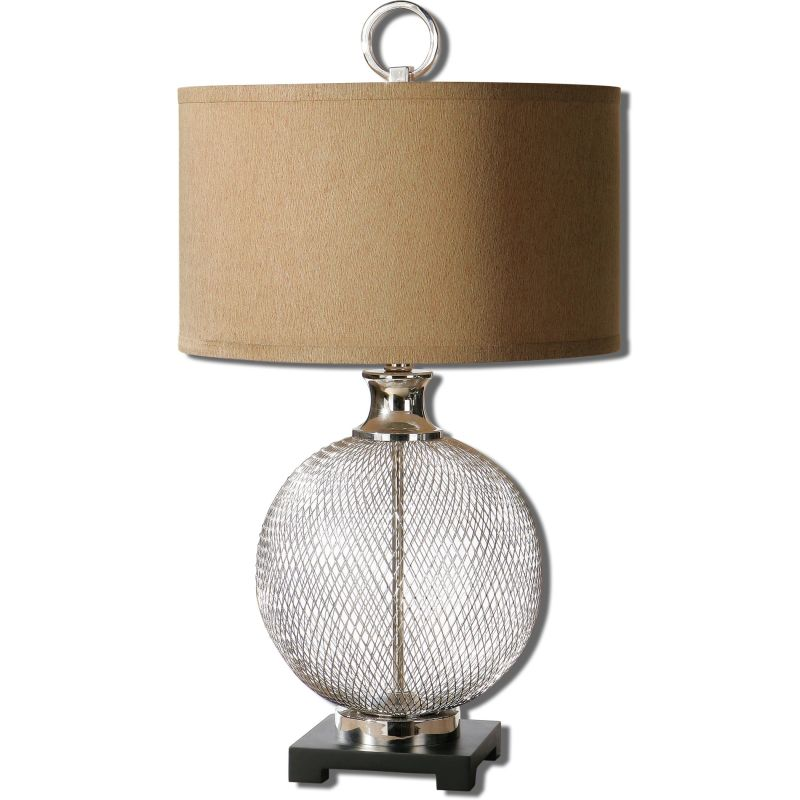 Uttermost 26589-1 Catalan Table Lamp with Cylinder Shade Nickel Lamps Sale $283.80 ITEM: bci2357549 ID#:26589-1 UPC: 792977265895 :
