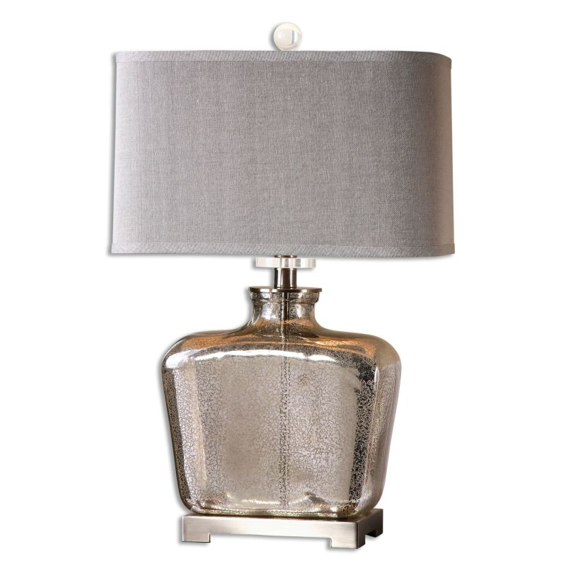 Uttermost 26851-1 Molinara 1 Light Table Lamp Speckled Mercury Glass Sale $204.60 ITEM: bci2612239 ID#:26851-1 UPC: 792977268513 :