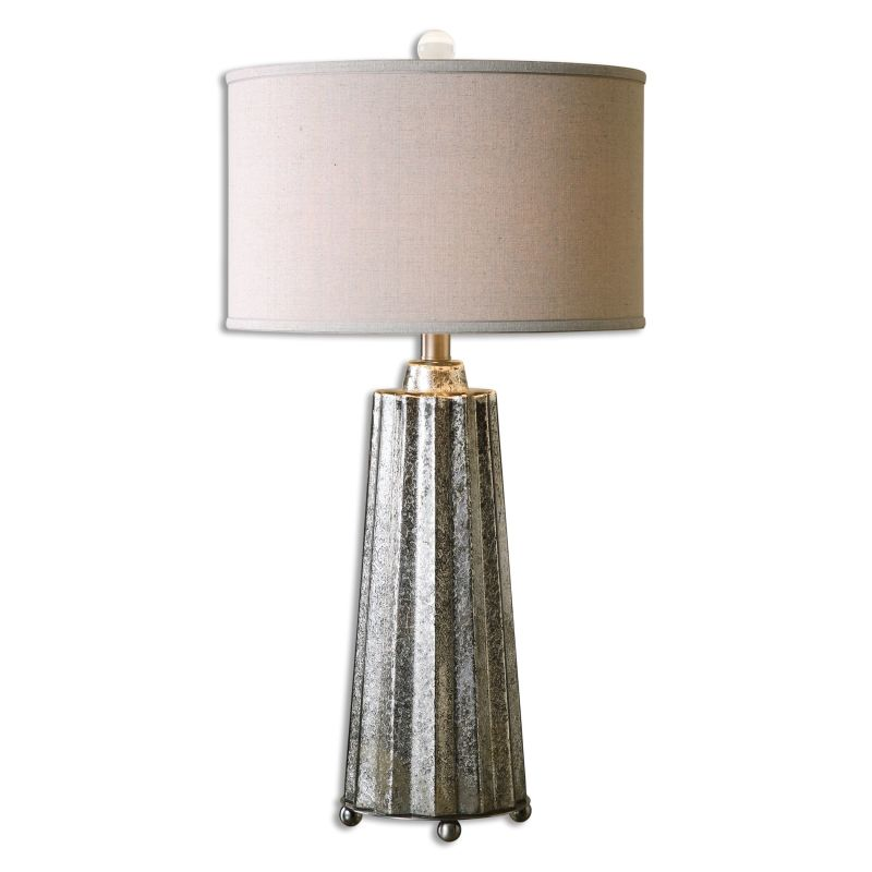 Uttermost 26906-1 Sullivan 1 Light Table Lamp Burnished Mercury Glass Sale $257.40 ITEM: bci2612241 ID#:26906-1 UPC: 792977269060 :
