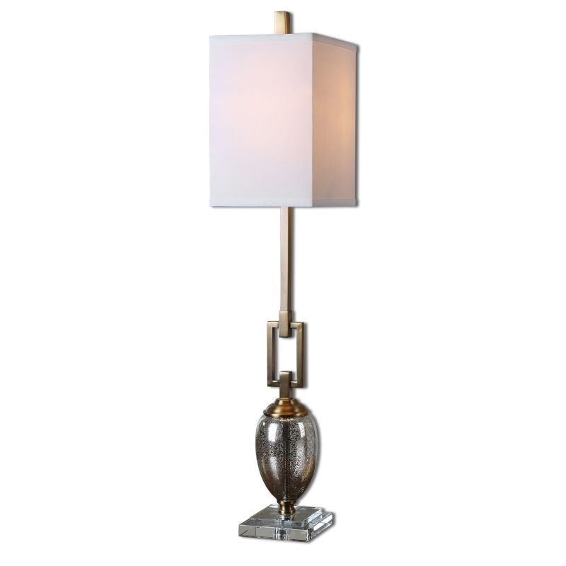 Uttermost 29338-1 Copeland Buffet Lamp with Square Shade Glass and Sale $195.80 ITEM: bci2357593 ID#:29338-1 UPC: 792977293386 :