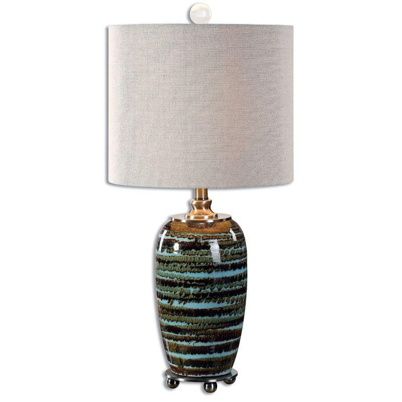 "Uttermost 29348-1 Laurendine 1 Light 28"" Tall Table Lamp with White"