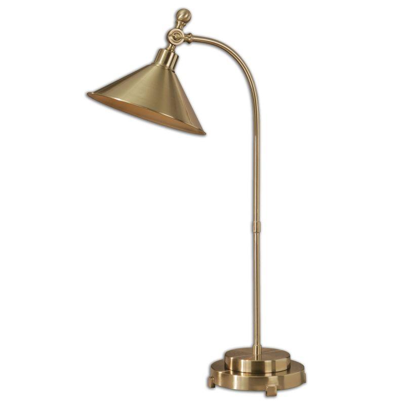 Uttermost 29947-1 Viarigi Single Light Desk Lamp Coffee Bronze Lamps