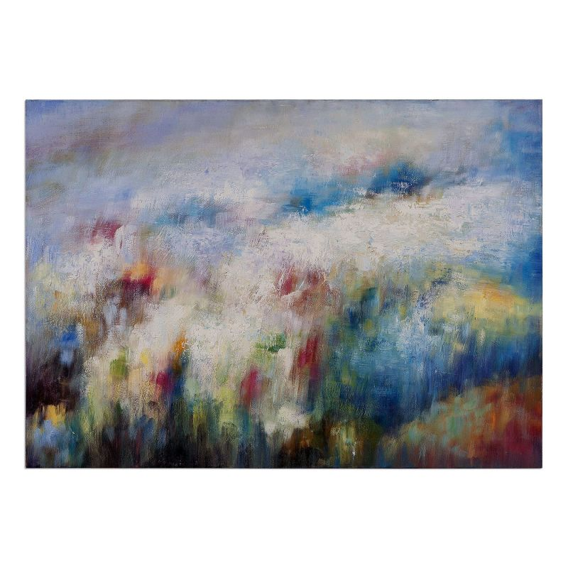 """Uttermost 31402 Breathe 40"""" x 56"""" Canvas Art Hand Painted Canvas Home"""