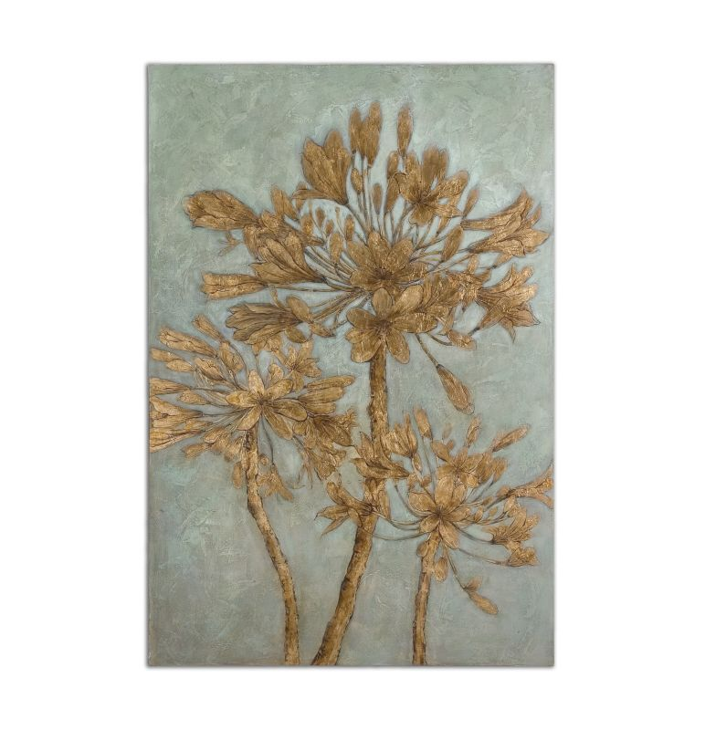 Uttermost 34275 Golden Leaves Wall Art Home Decor Paintings Sale $371.80 ITEM: bci2243968 ID#:34275 UPC: 792977342756 :