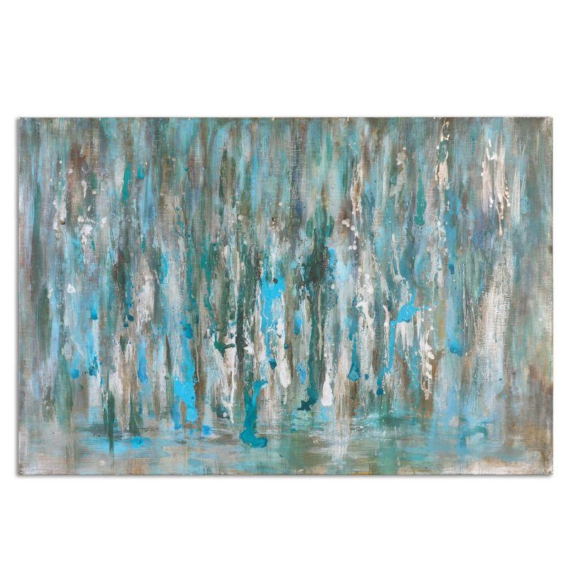 "Uttermost 34298 Cascades 40"" x 60"" Canvas Wall Art Canvas Home Decor"