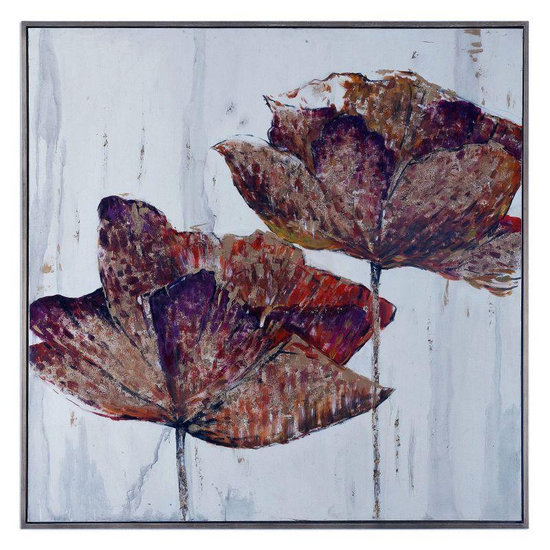 """Uttermost 35326 Golden Accents 62"""" x 62"""" Fir Wood Frame Canvas Art"""