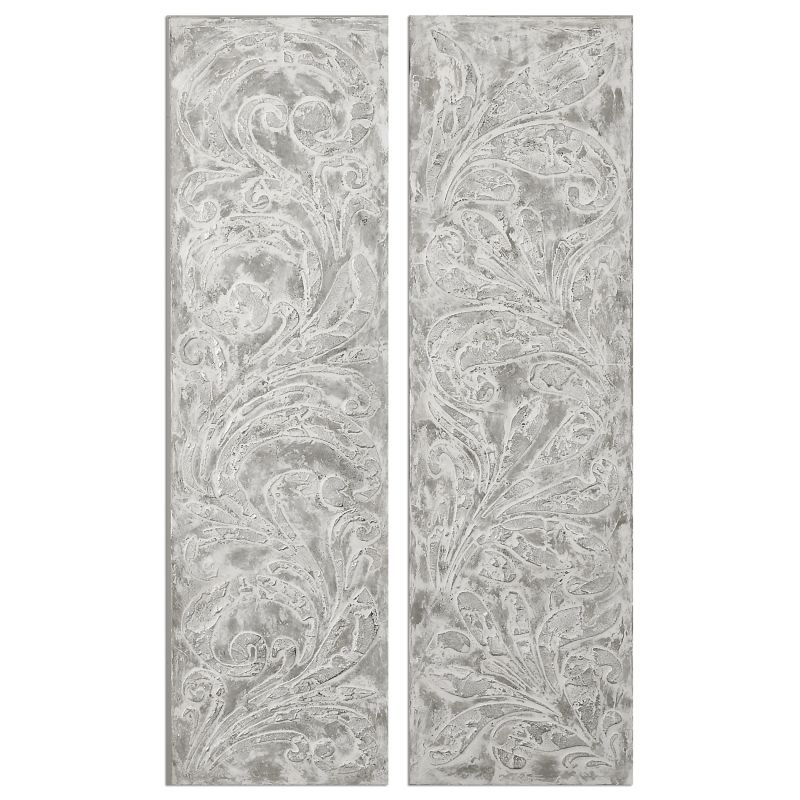 Uttermost 35500 Frost On The Window Canvas Art Designed by Jim Parsons