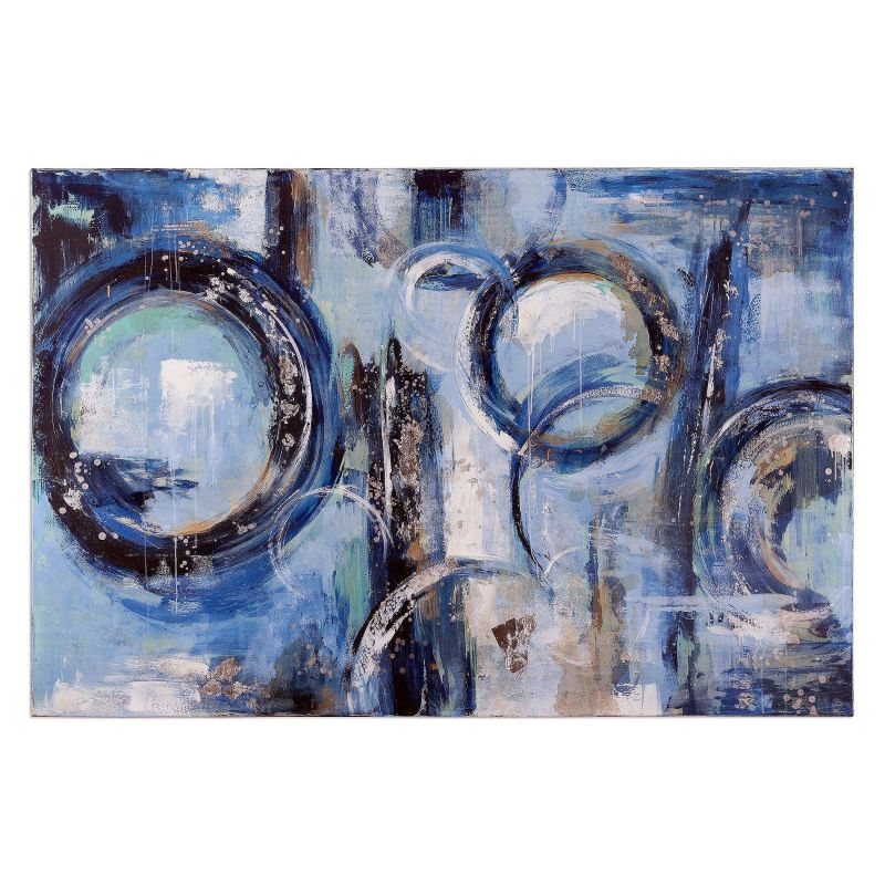 "Uttermost 36107 Sparkle 60"" x 90"" Canvas Art Hand Painted Canvas Home"