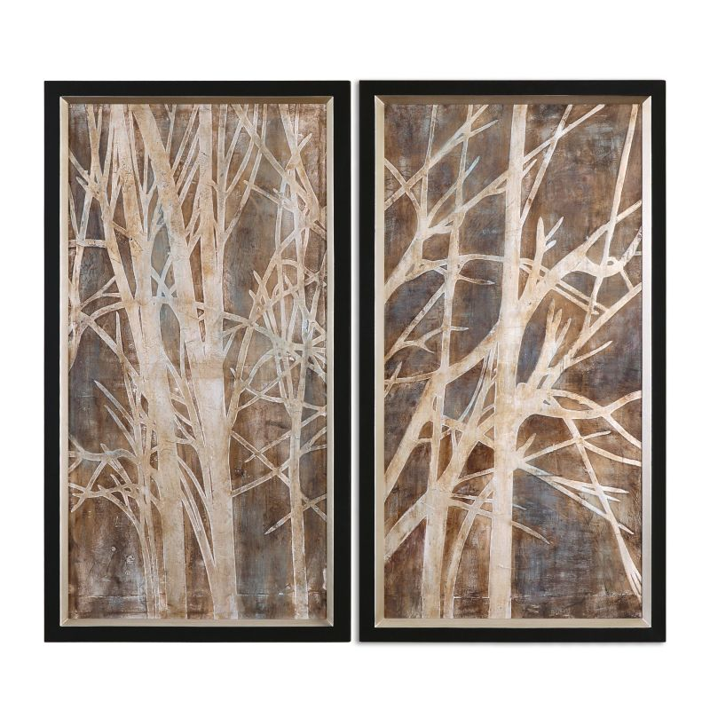 "Uttermost 41543 Twigs 43"" x 23"" Canvas Wall Art Canvas Home Decor"