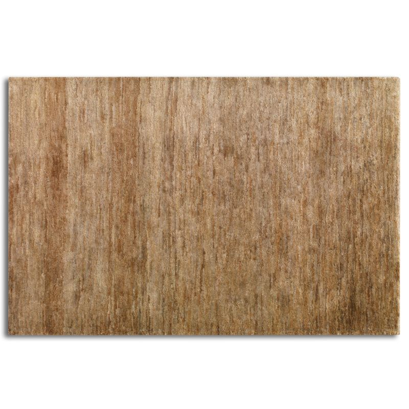 Uttermost 70021 Mounia Hand Knotted Hemp Rug Rust Brown 8 x 10 Home