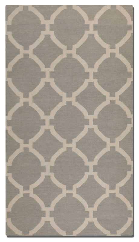 Uttermost 71014 Bermuda Flat Weave Wool Rug Gray 8 x 10 Home Decor Sale $657.80 ITEM: bci2756730 ID#:71014-8 UPC: 792977926550 :