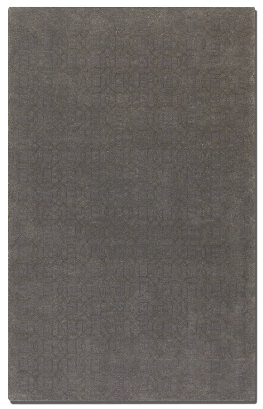 Uttermost 73028 Cambridge Hand Tufted Wool Rug Slate 5 x 8 Home Decor