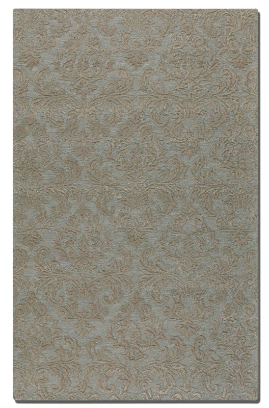 Uttermost 73032 St. Hand Tufted Wool Rug Light Blue 5 x 8 Home Decor