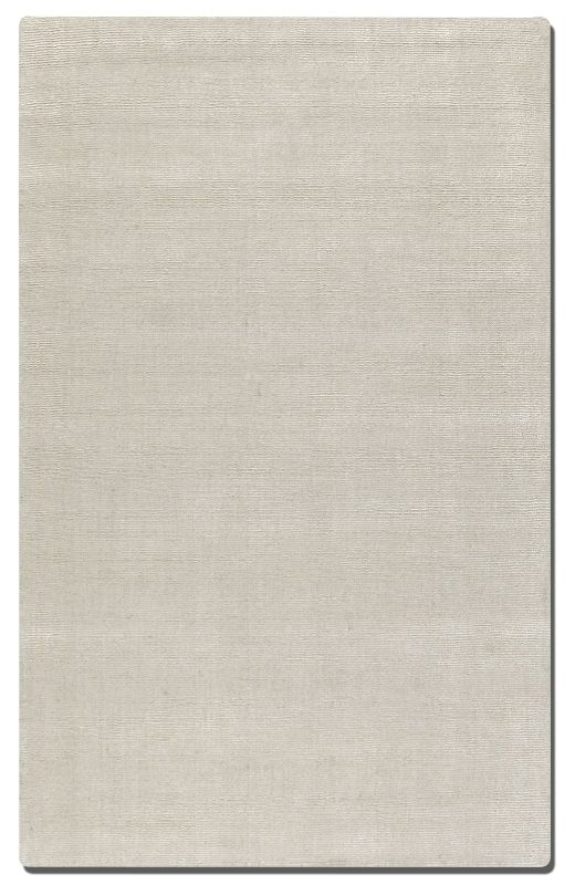 Uttermost 73036 Rhine Hand Tufted Wool Rug Silver 5 x 8 Home Decor