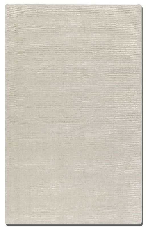 Uttermost 73036 Rhine Hand Tufted Wool Rug Silver 8 x 10 Home Decor