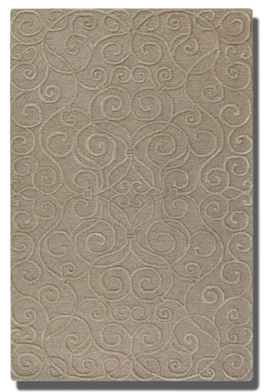 Uttermost 73041 Vienna Hand Tufted Wool Rug Dark Taupe 8 x 10 Home Sale $1097.80 ITEM: bci2756894 ID#:73041-8 UPC: 792977934623 :