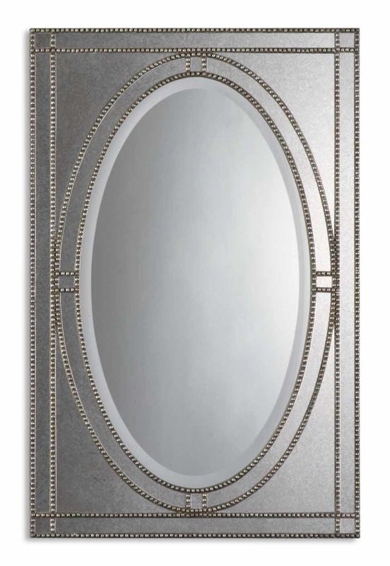 Uttermost 08055 B Earnestine Mirror Antique Silver Champagne Home Sale $371.80 ITEM: bci1946073 ID#:08055 B UPC: 792977856284 :