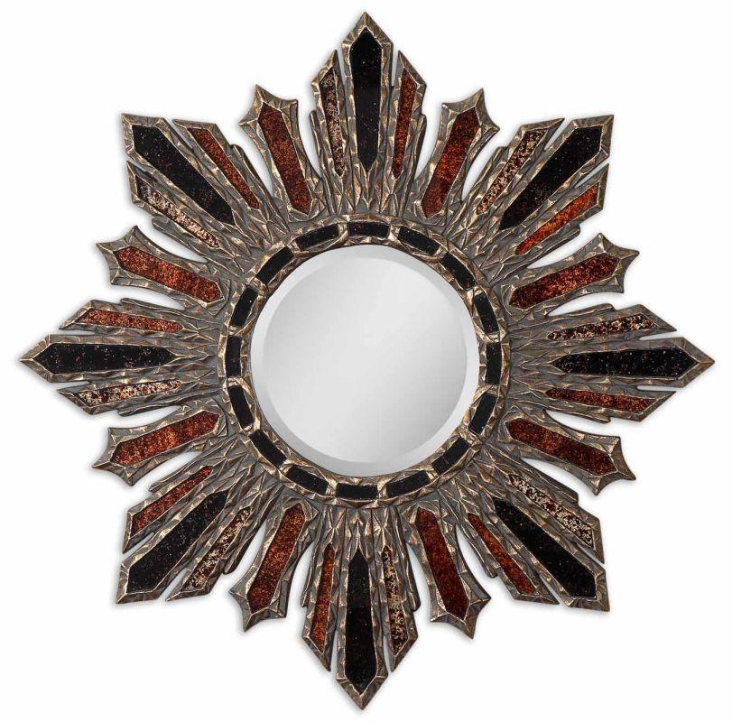 Uttermost 12805 Arvada Starburst Mirror Antique Gold Home Decor