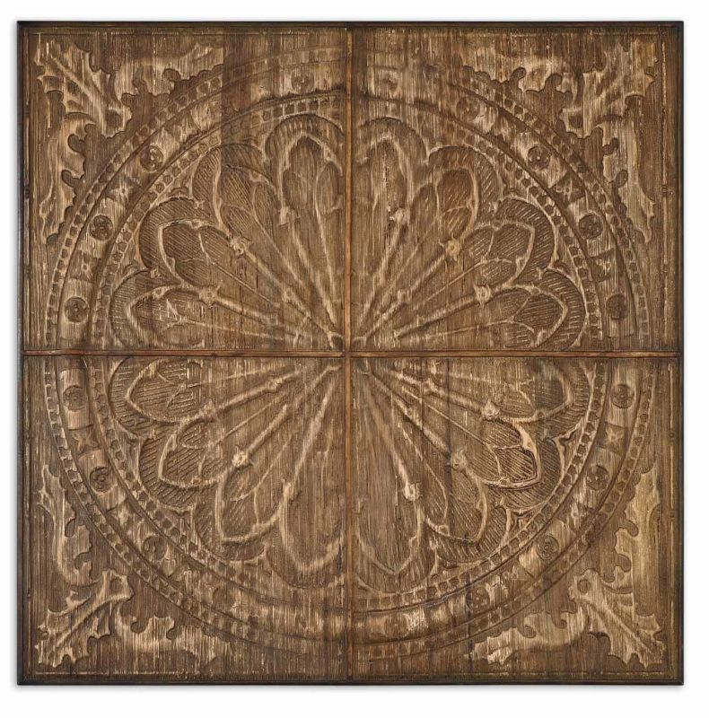 Uttermost 13780 Camillus Wall Art Natural Wood Home Decor Wall Decor