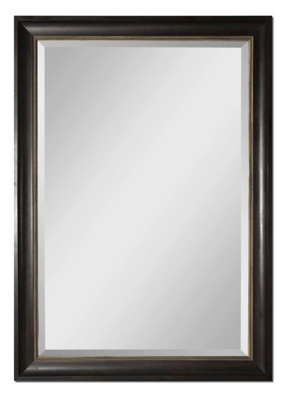 Uttermost 14178 Axton Mirror Dark Mahogany Home Decor Lighting