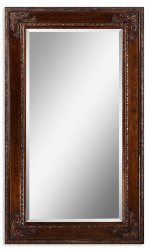 Uttermost 14201 Edeva Mirror Antique Gold leaf Home Decor Lighting