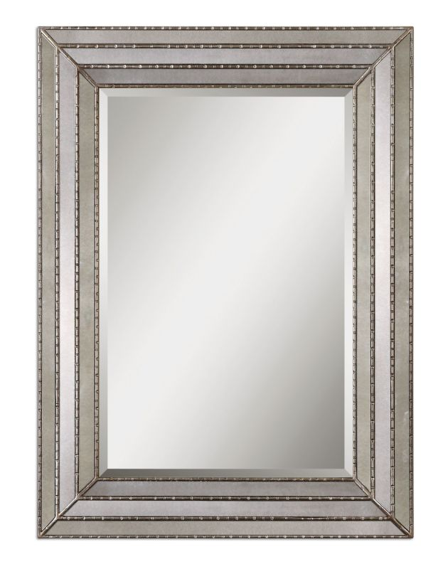 Uttermost 14465 Seymour Mirror Burnished Silver Home Decor Lighting