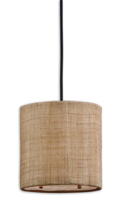 Uttermost 21934 Dafina 1 Light Drum Shaped Indoor Mini Pendant
