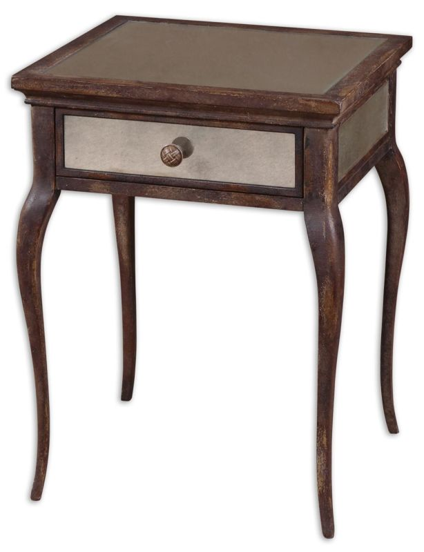 Uttermost 24157 St. Owen End Table Natural Wood Furniture End Tables