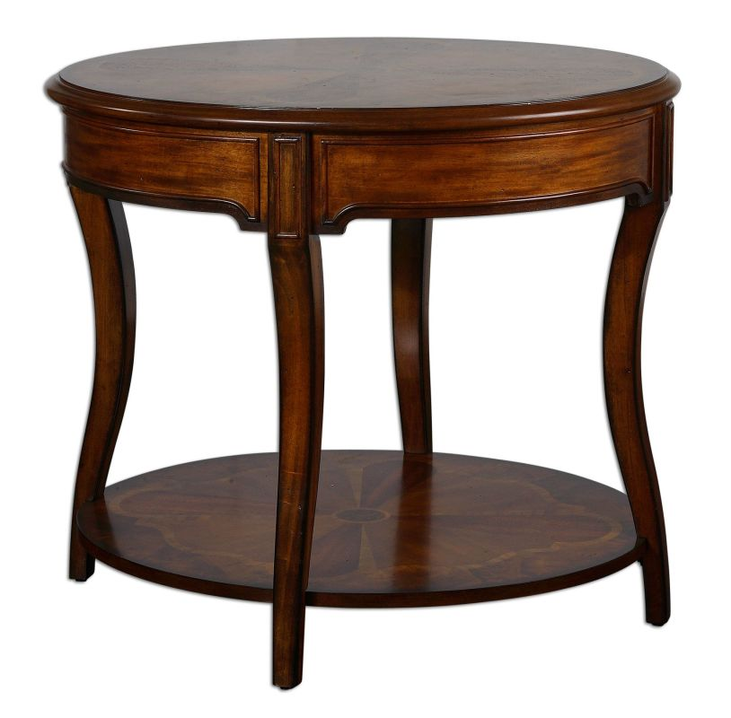 Uttermost 24231 Corianne Lamp Table Natural Wood Furniture End Tables