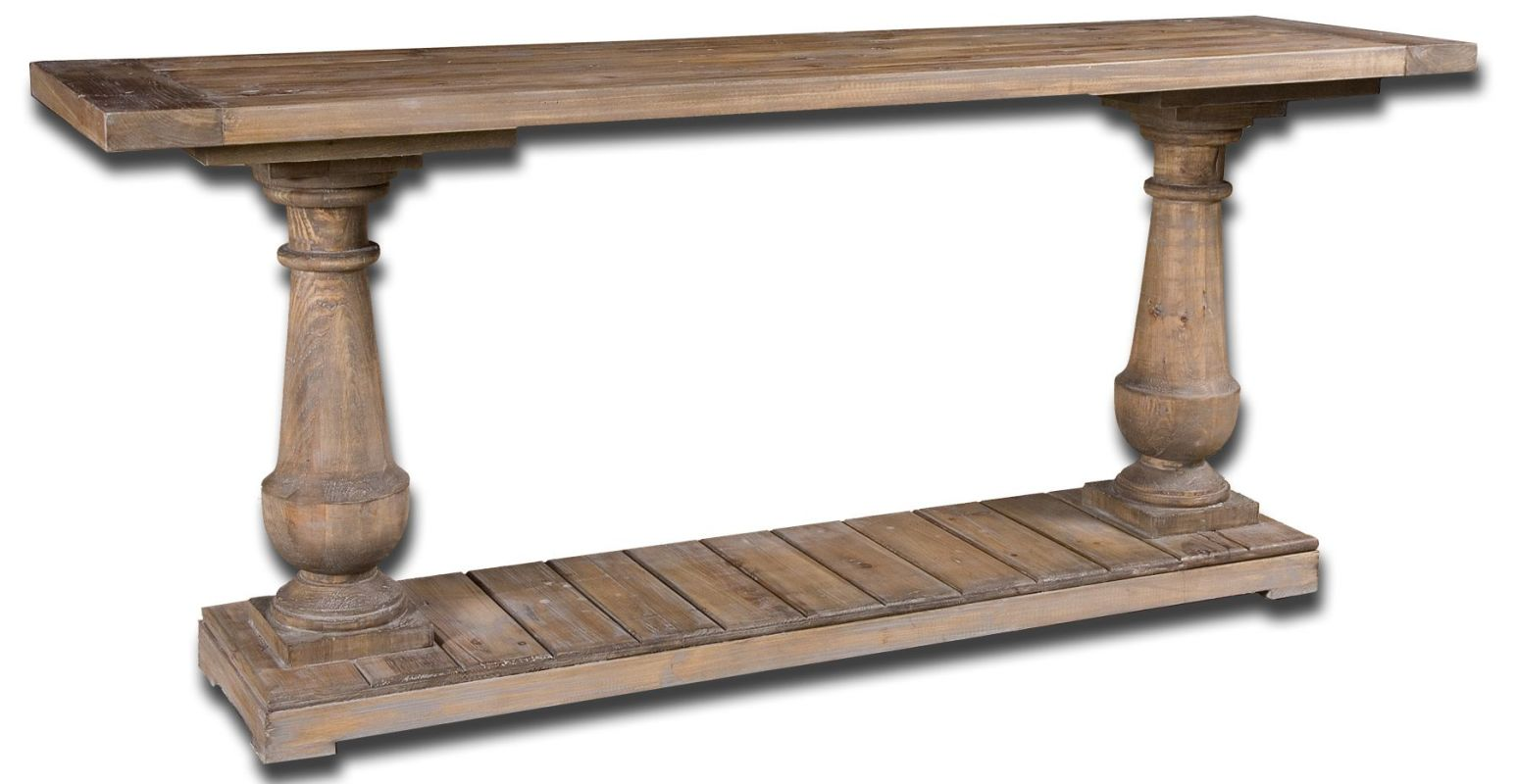 Uttermost 24250 Stratford Console Natural Wood Furniture Console